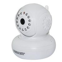 2 x Dual Audio Lens IR Night Vision PanTilt Wi-FI Webcam Network Remote Watch View Monitor Alarm Security Surveillance IP Camera