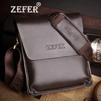 Free shipping! New fashion men genuine leather shoulder bag,men messenger bag.