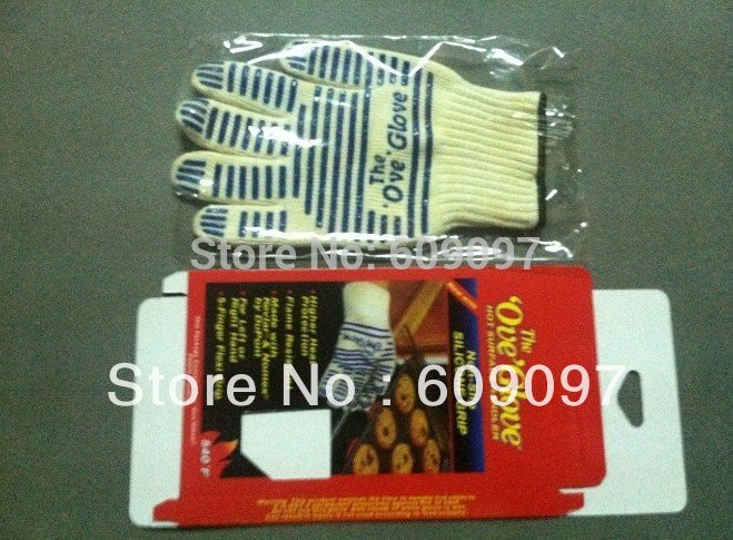 100 pcs free shipping the ove glove hot surface handler ,Microwave oven Glove with Non-Slip Silicone Grip(China (Mainland))