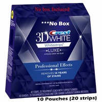 20 whitestrips / 10 pouches Crest 3D Professional Effects Whitestrips