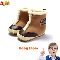 New winter popular baby boys snow boots warm footwear mothercare cotton toddler shoes prewalker free shipping
