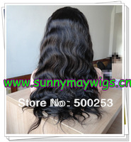 New arrival body wave Brazilian virgin hair with baby hairs bleached knots Glueless full lace wigs in stock