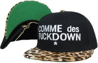 HOT SELL Hats! COMME DES FUCKDOWN snapback caps, adjustable baseball hats , 4 colors to choose+free shipping