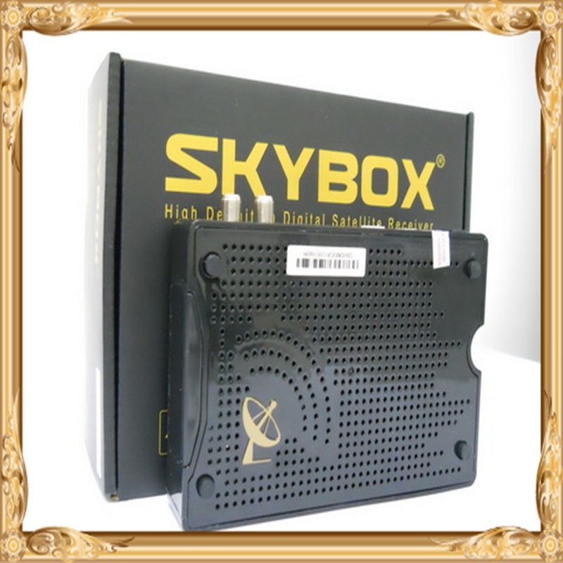 hot sell !! Skybox M3 1080pi Full HD PVR FTA Satellite Receiver Support USB Wifi + free Adapter ,high quality !!!!(China (Mainland))