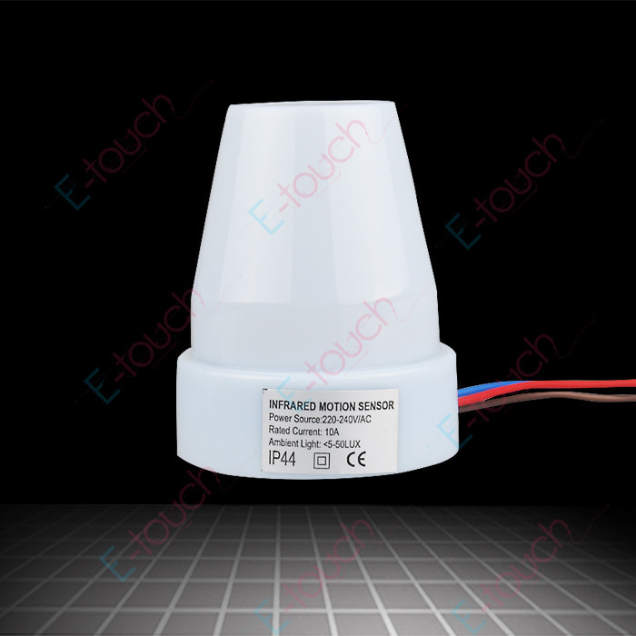 Outdoor Use Light Sensor,Automatic Light Sensor Switch 220V-240V/AC 10A Load Current(China (Mainland))