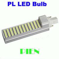 E27|G24 pl led lamp 12W 5050 SMD corn bombillas 60 LED for Home downlight Warm White 85V-265V CE&ROHS by DHL 30pcs