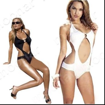 Summer Halter Women Wrap Chest Sexy Bikini bathing suit Sexy Swimwear Swimsuit Beach Bikini White Black NY001
