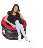 indoor and outdoor inflatable classic 1 person sofa inflatable sofa 88*85*65cm, 3 colors available