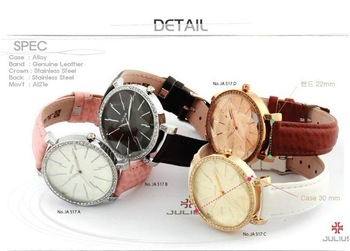 famous korean brand 2013 fashion antique vintage style quartz woman dress watch analog chronograph watch leather strap