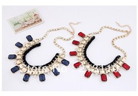 Fashion New Arrival Six Colors Chocker /Collar Necklace Jewerly For Women Free Shipping