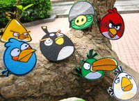 Promotion ! 6.6-9cm big cartoon Appliques Sticker Decal for Clothes, Cloth Paste Fabric Paste Iron-on sew-on  200pcs/lot