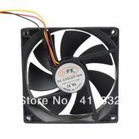 10Pcs/Lot 9cm PC Intel AMD CPU Heatsink Fan 12V 3Pin Computer Case Cooller Fan