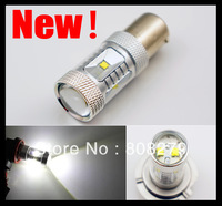 2pcs Bright 600 Lumen CREE 30W 1156/Ba15s/P21W Power LED Backup Reverse Tail Light Bulb Lamp White  DRL Low Beam Headlight