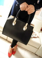 2014 HOT SALE  JY101 women handbags Totes Bag  Set Bag Metal edge Lowest price in alexpress 6 color