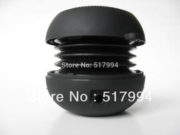 free shipping 2013 new high end 5 in 1 function Speaker MP3 FM radio Card reader Sound card mini hamburger portable speaker