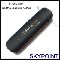 3G modem 7.2M Similar  Huawei E1750 function