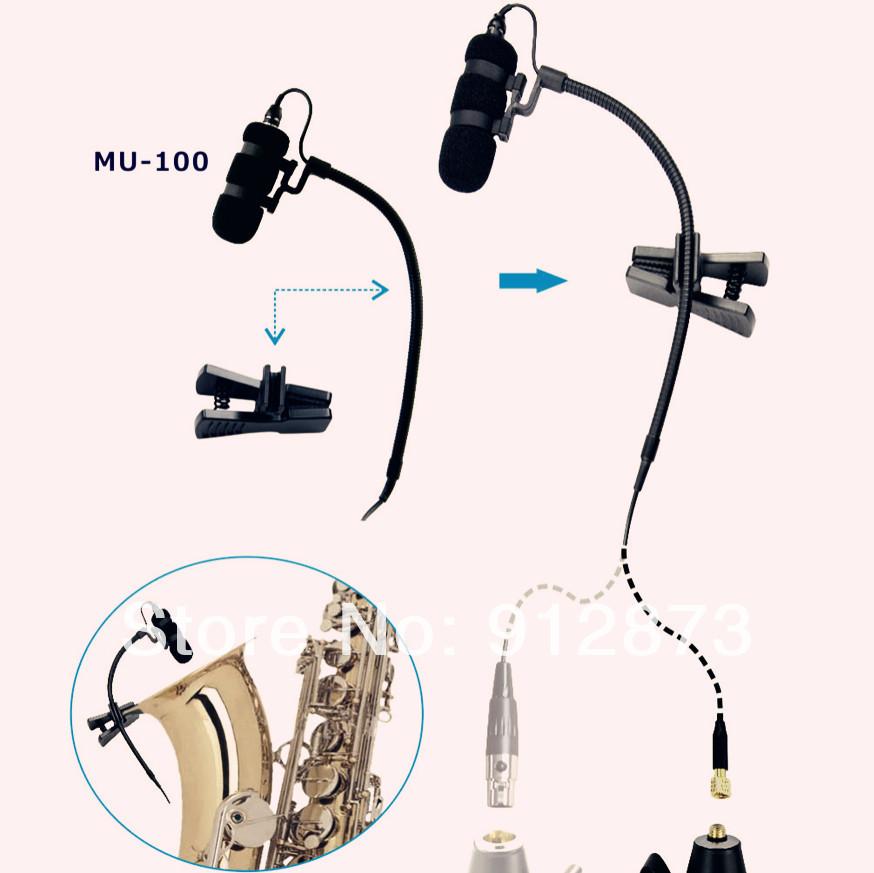 Instrumento Musical Claasial Microfones Condensador de Eletreto Unidirection Microphon para violão violino violoncelo Instrumentos Musicais