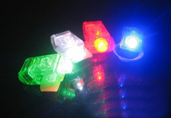 ( bulk) LED finger lamp, ordinary finger lamp, optical finger light finger lamp