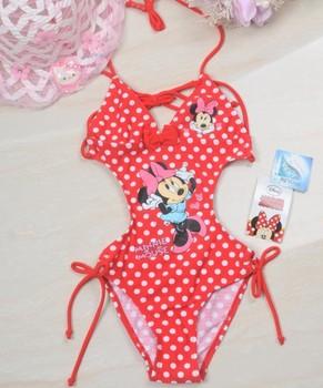 Wholesale  Free Shipping mine swimsuit    for 6-12years,children/girl/kids' swimsuit  beach wear   swim wear