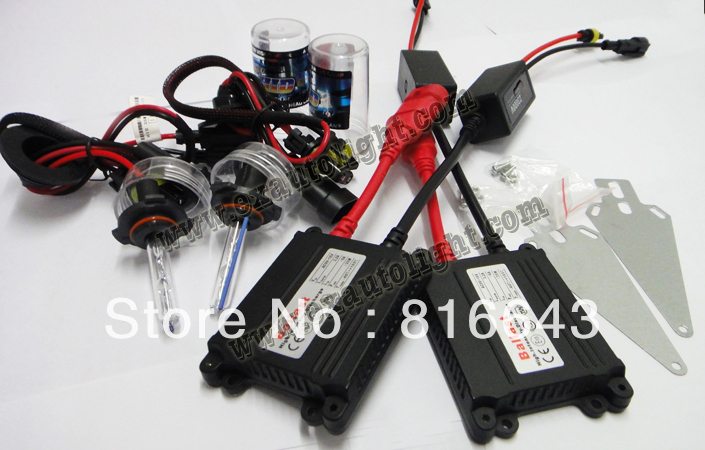 Free shipping DHL 20set /lot AC Xenon HID kit H1 H3 H4 H8 H4 H7 H11 single beam HID Vehicle AUTO CAR lamp HID KIT 12v 35w(China (Mainland))