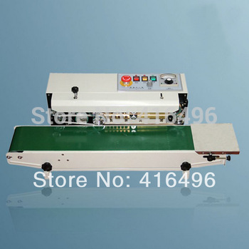 Aluminum bags sealing machine automatic sealer to plastic packages electrical closure welding packing tools equipment  DF900