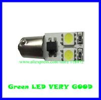 100pcs/lot led car bulb canbus led light  BA9S-4SMD-5050 12v  DC  free shippment