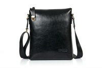 Free shipping Genuine Leather men's messenger bag Danjue D8007