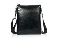 Free shipping Genuine Leather men's messenger bag Danjue D8007