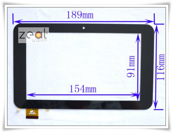 7 7 Inch Capacitive Digitizer Glass Replacement for Window Tablet PC N70 Dual Core PB70DR8069 ZP9015