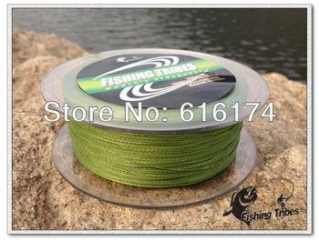 grass green dyneema  Free shipping100m 8LB10LB15LB20LB30LB40LB50LB65LB80LB braided fishing line dyneema fishing tackle