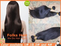 "Queen Hair Factory Price Mix Length 4pcs/Lot 100% Peruvian Straight Hair #1,1b,2#,4# 8""-32""DHL Free Shipping"