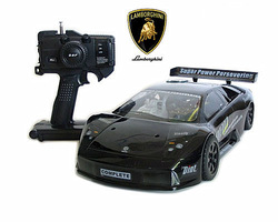 Promotion !!!1/10th Lamborghini nitro rc car/drifiting off-road racing 4WD sport gearbox gas nitro car with 21cc engin/RTR/VH-V6(China (Mainland))