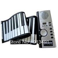 Free shipping 61 Keys Foldable Soft Portable Electric Digital Roll Up Keyboard Piano