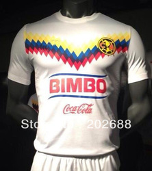 New Arrived ! white color America club soccer jersey of mexico.(China (Mainland))