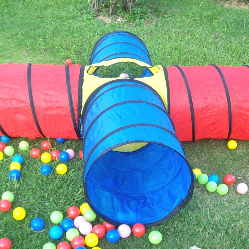 Игровые тоннели для детей своими руками