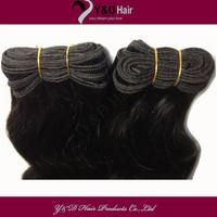 12-30 Inch 2pcs/lot Natural Black Body Wave 100% Peruvian Virgin Real Human Hair Extension Fast Shipping