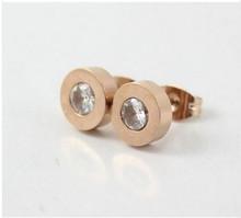cheap steel earring