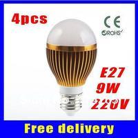 4X3W (12w) 3x3w (9w) 5x3w (15w) 3w Dimmable E27 E14 B22 holder AC85-265V warm / cold white LED bubble ball bulb light lamp
