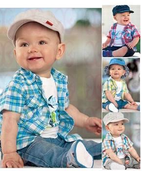 TZ146,Free Shipping! 2013 new arrive baby clothing set boy clothes set t-shirt+shirt+pants summer kid costume Retail