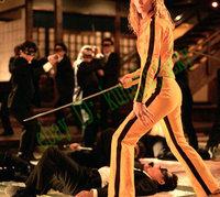 Vintage Classic Bruce Lee Yellow Game of Death Costume Kill Bill Tracksuit Ninja Uniform Cosplay