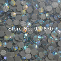 Wholesale SS10 lead ab crystal rhinestone 500 gross/bag, iron on diamonds strass stones for cloting, Christmas Item Decoration