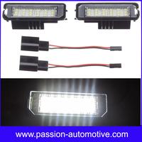Super Bright 2X24SMD LED License Plate Light For VW Golf 6 VI 5 V GTI Seat Leon Altea