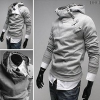 Hot Selling 2014 Classic Men's Hoodies Men's Outerwear Men Special Hoodies Jacket Coat Fashion Casual Men Clothes 5 Colors M~3XL
