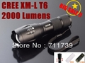 UltraFire E17 CREE XM-L T6 2000Lumens High Power Torch Zoomable LED Flashlight Torch light (3xAAA / 1x18650) - Free shipping(China (Mainland))