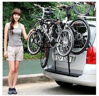 Auto car bicycle frame rack suspension frame the rear frame bike frame