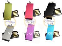Mini Swivel USB Flash Memory pen Drive 1GB 2GB 4GB 8GB 16GB 32GB thumb stick free shipping