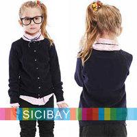Girls  Sweaters Children Jackets Casual Style Girls Spring Knitwear Kids Cardigan O-neck Kids Leisure Wear,Free Shipping K0302