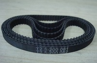 T2.5 timing belt 6mm width 200m length rubber with glass fibre