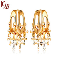 B2531JB  Drop  Earring 18K gold plated  Jewelry  2012 Design