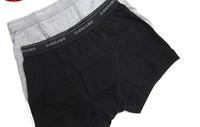 Free Shipping 2013 Men 100% Cotton Boxer Men's Boyshort Booty Shorts Man Underwear Intimates Underpants Lingerie XL XXL